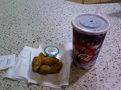 Regal Theaters Jalapeno Poppers and Soda