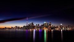 Toronto (_B_G_D_) Tags: 5dmarkiv longexposure architecture sky urban building cityscape tower landscape downtown landmark buildings night tourism modern toronto canadian ontario photooftheday usa travel northamerica panorama picoftheday photography canon america art sunset