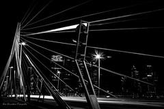 Rotterdam -1-4 (Bas Broeders) Tags: rotterdam erasmusbrug bridge long exposure night sluitertijd lange
