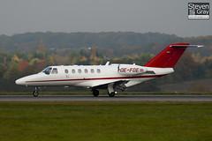 OE-FOE - 525A-0375 - Private - Cessna 525A Citation CJ2 Plus - Luton - 101101 - Steven Gray - IMG_4311