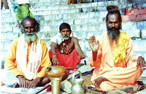 Near the Ganges in Varanasi