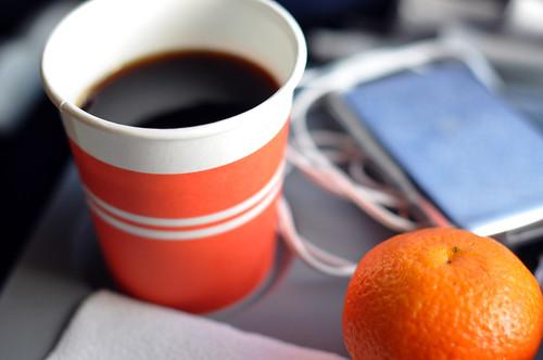 Kaffe og mandarin