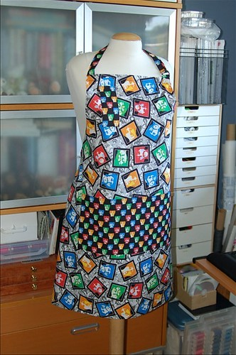 Beatles-themed apron
