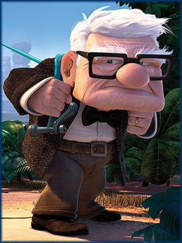 I feel all ancient, like the old guy from UP!