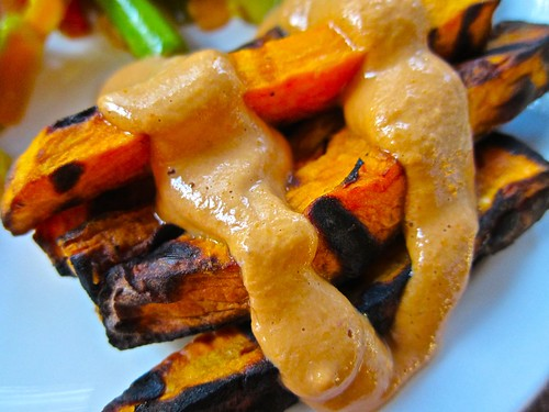 Sweet Potato Fries with Cashew Ketchup