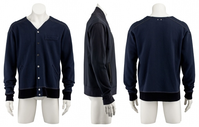Alexander Wang collarless letterman