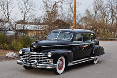 """1946 Cadillac, Series 751, Limo • <a style=""""font-size:0.8em;"""" href=""""http://www.flickr.com/photos/85572005@N00/5204417176/"""" target=""""_blank"""">View on Flickr</a>"""