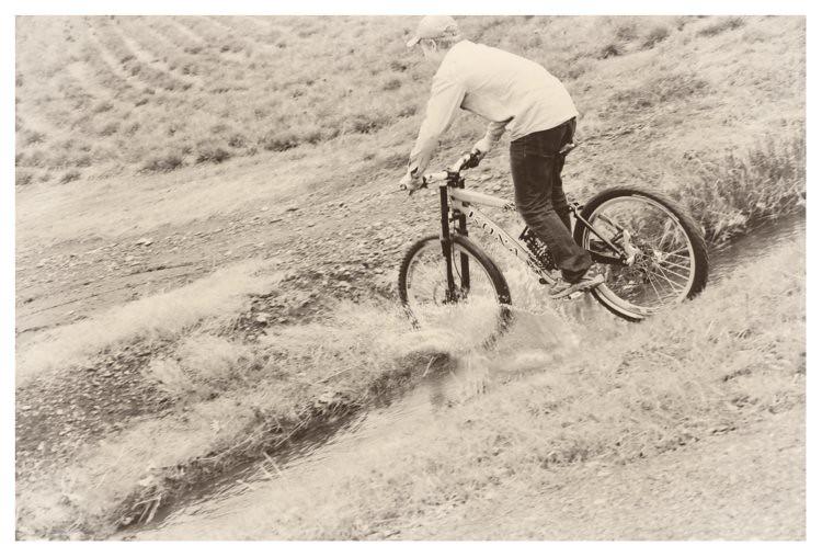 Drake on Bike