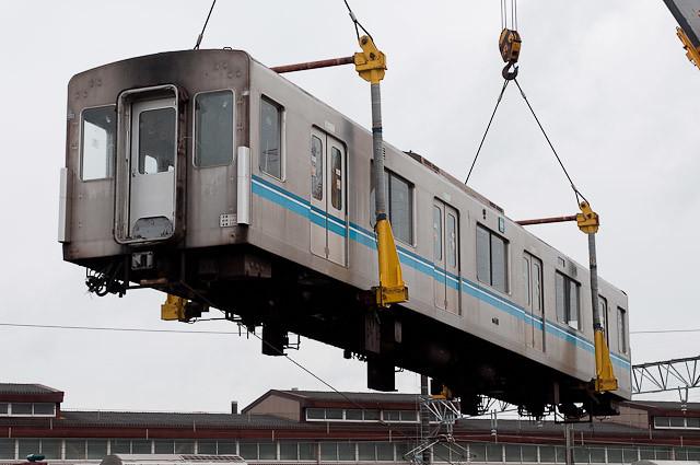 2東京メトロ東西線05系05-110F 05-410 搬出