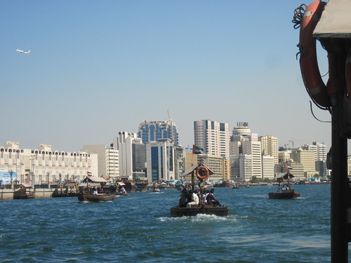 Abras on Dubai Creek