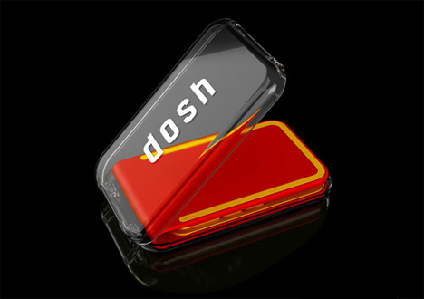 Front view of Dosh Wallet