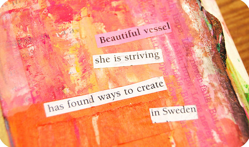 Art Journal Detail: magic me