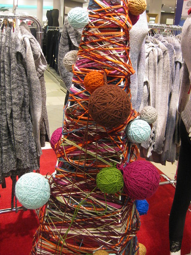 Yarn Tree Close Up