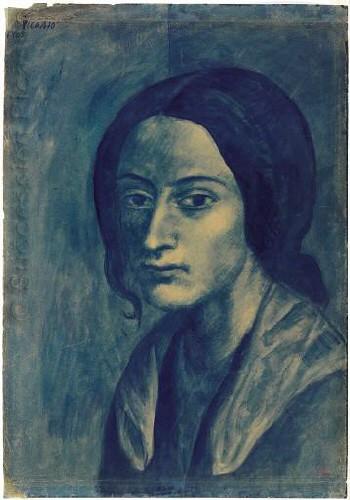 La Mujer del Mechón de Cabello - Picasso
