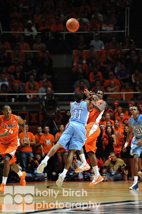 Illinois v. North Carolina men's basketball | Assembly Hall, Champaign, IL