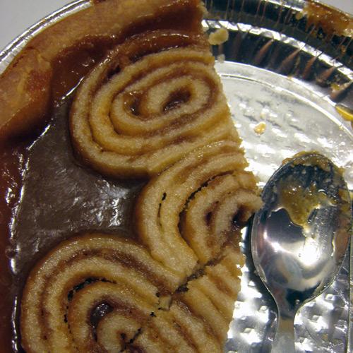Spécialité québécoise : le tourbillon au sucre à la crème