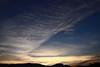 November Dawn 2 (LongInt57) Tags: blue sky orange cloud brown sun white mountain black mountains silhouette yellow clouds sunrise landscape grey glow shine gray scenic silhouettes glowing sunrises shining mindigtopponalwaysontop