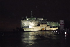 edinburgh castle (acinorev79) Tags: castle stone night scotland edinburgh europa europe notte edinburgo scozia edimburghcastle