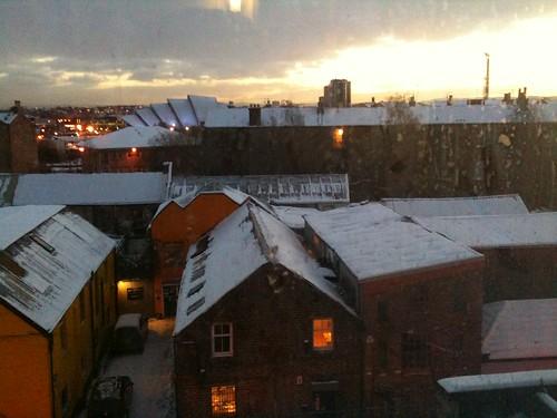 Glasgow through an iPhone