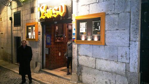 Portuguese Fado music at Luso Cafe in Lisbon #1 by RennyBA