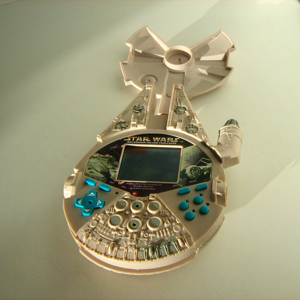 Tiger Electronics: Star Wars Millennium Falcon Game Toy - 2 of 2