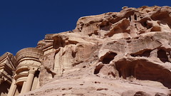 A Glimpse of Petra. By Ian Layzell (IANLAYZELLUK) Tags: mountain mountains history rock architecture ruins rocks asia desert petra ruin middleeast arabic jordan caves monastery historical cave indianajones jordanian roseredcity thedeir november2010 ianlayzell petrarocks monasterypetra aglimpseofpetra thedeirpetra thedeirmonastery halfasoldastime