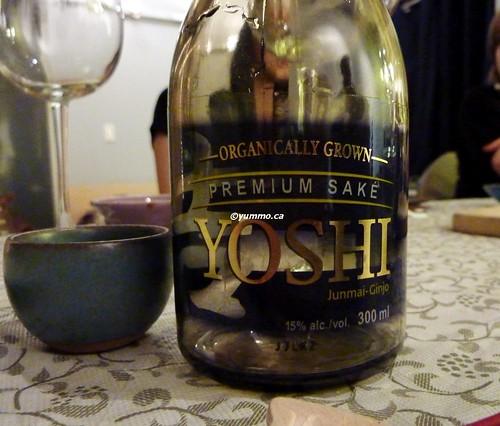 Yoshi Premium Sake