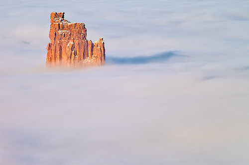 Candlestick Tower in Clouds, Utah