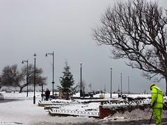 Western Gardens, Esplanade, Ryde 3rd December 2010 (Claire @ iloveryde.com) Tags: christmas snow ice skiing snowmen wintertime snowballs sledging windchill rydeisleofwight iloveryde