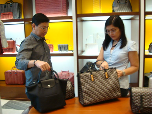 Jerry: Your Longchamp looks better than that. :)