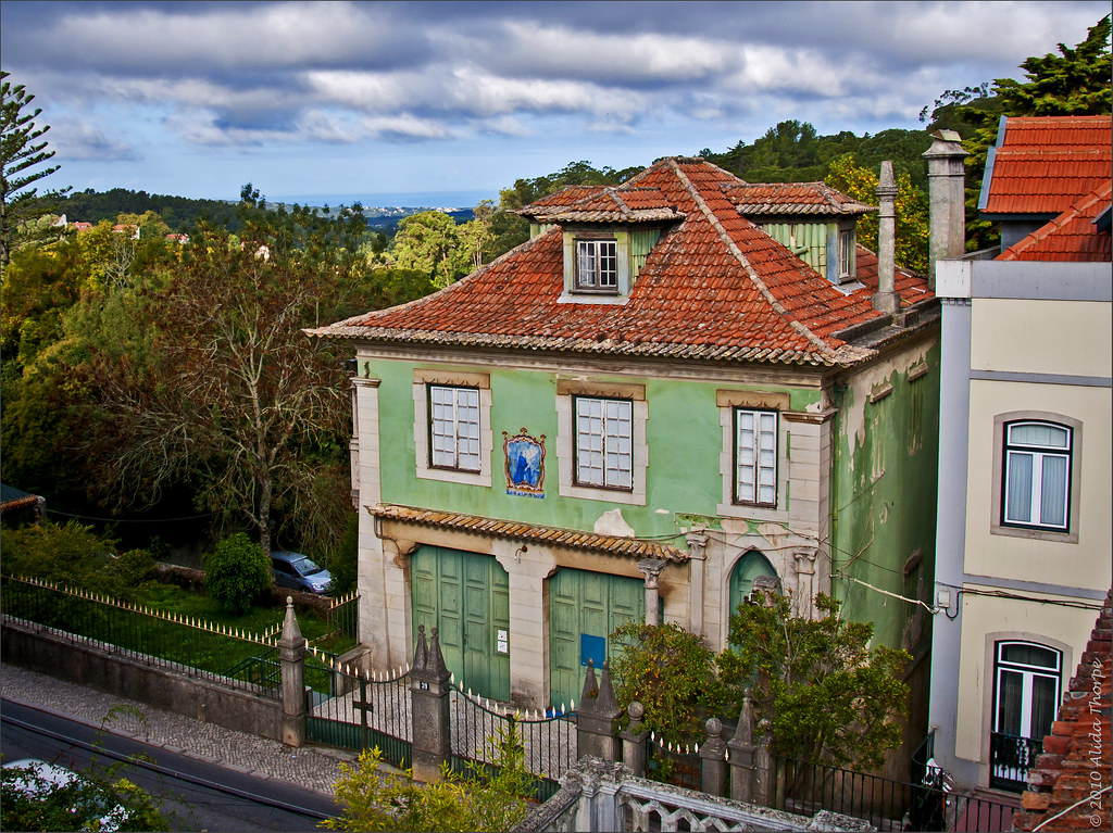 green house in Sintra