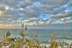 Seaside Cliff View (Oana Dragan) Tags: sea cliff beach japan canon japanese cloudy hdr seaofjapan japanesesea canoneos7d canon7d