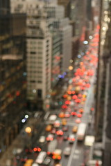 city bokeh (jodi*mckee) Tags: newyorkcity traffic bokeh thirdavenue