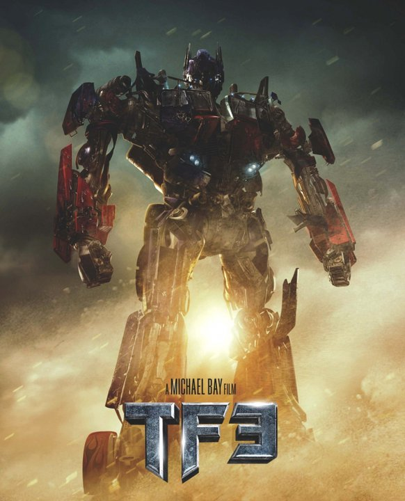 Thumb Teaser Poster de Transformers 3: Dark Of The Moon (con Optimus Prime)