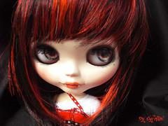 Bloody girl!