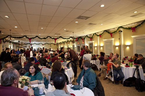 njva holiday party wide shot