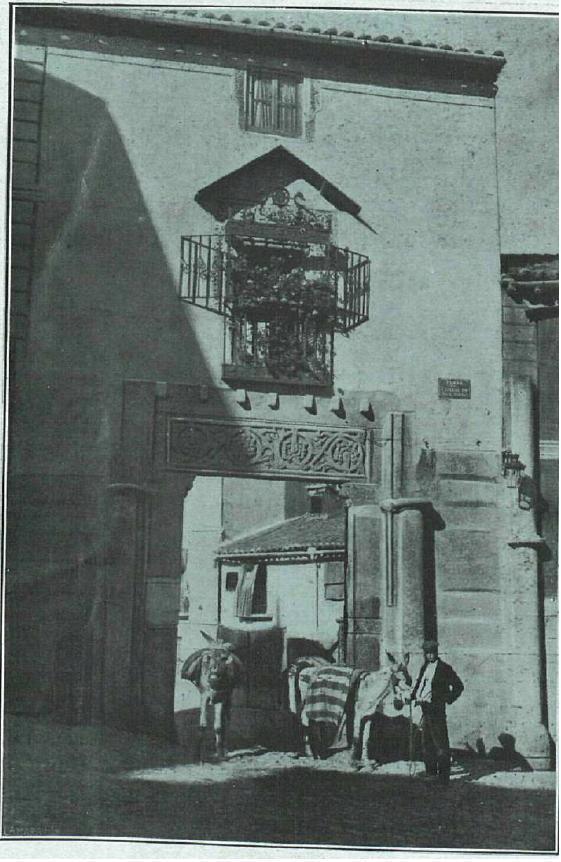 Corral de Don Diego hacia 1918. Foto Villaba para La Esfera