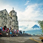 Daraga Church Sidetrip: Mayon Madness Take 2