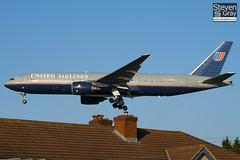 N788UA - 26942 - United Airlines - Boeing 777-222ER - 101205 - Heathrow - Steven Gray - IMG_5502