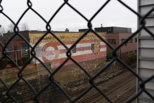 Auburndale, MA, mural #3