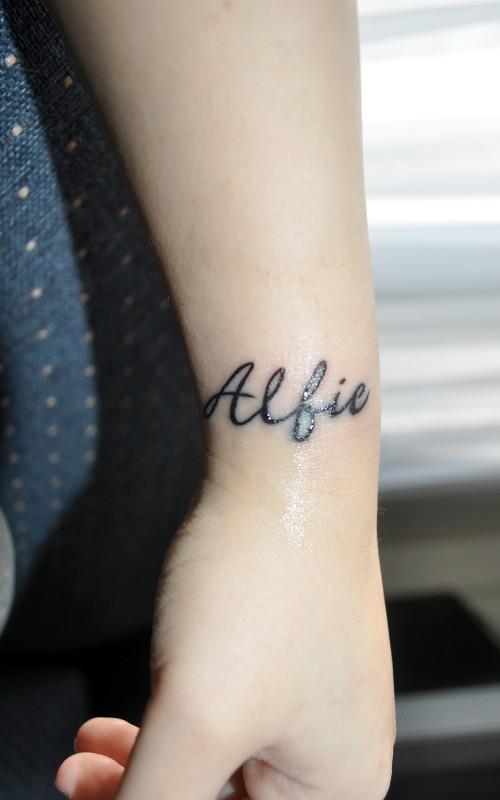 Wrist Tattoo (12-12-2010)