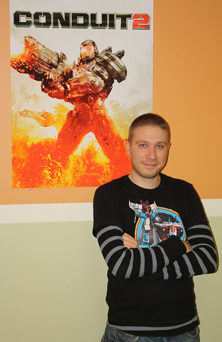 Eric Stoll of High Voltage Software