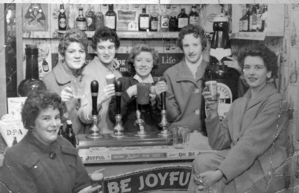 The Blackpool Bar Girls 1958