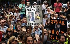 Demonstration-in-support-of-Julian-Assagne-in-Sydney (starbrightshine) Tags: julian assange