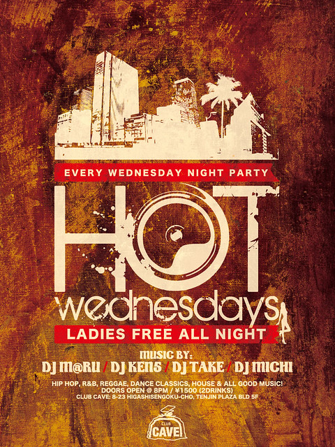 Hot Wednesdays @ Club Cave