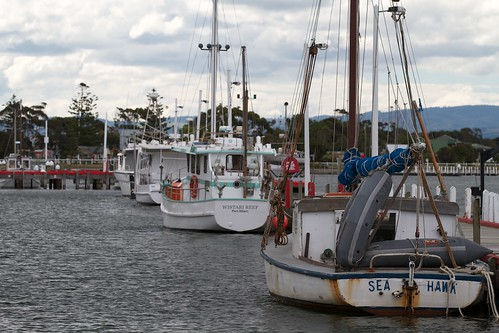 Boats in Port Albert