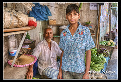 Gulshan Village Shop Keepers 01 fs (4WDaus.com) Tags: village father son dhaka bangladesh gulshan shopkeepers alisonkruger www4wdauscom alisonkrugercom
