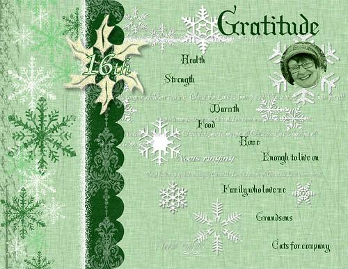 16th Gratitude