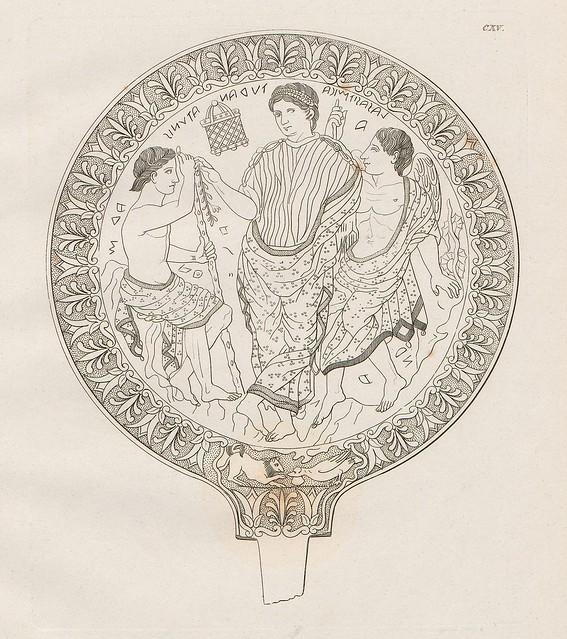 Etruskische Spiegel by Eduard Gerhard, 1840s m