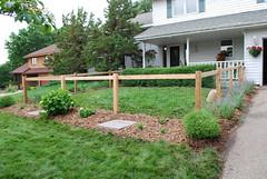 fence frontyard flatau
